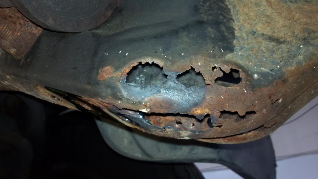 2nd Gen Non-Engine/Transmission - Frame rust and rot | Turbo Diesel ...